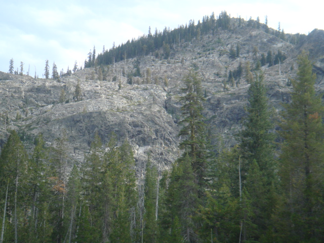 Hills above Cliff Lake