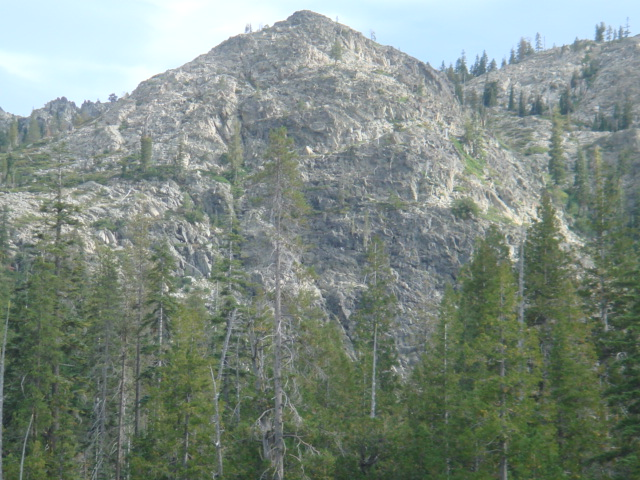Hill above Cliff Lake