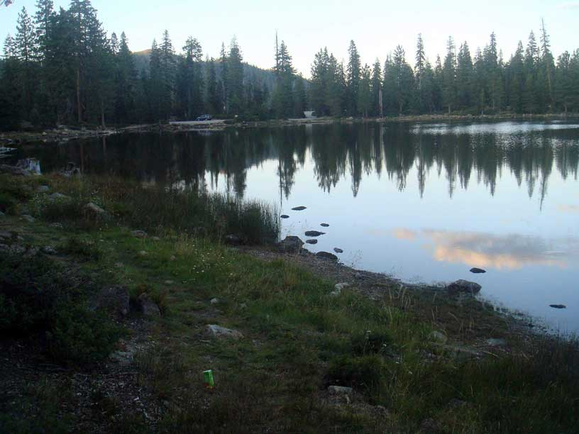 Gumboot Lake at Dusk 9