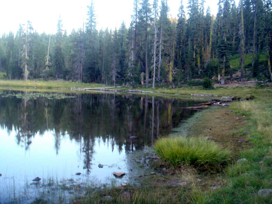 Gumboot Lake at Dusk 7