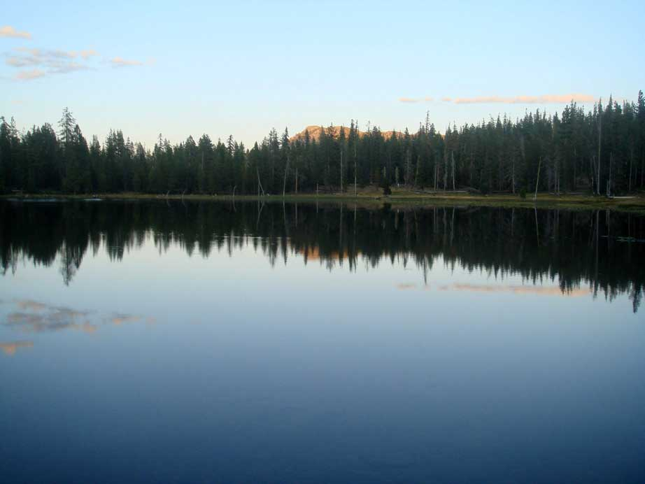 Gumboot Lake at Dusk 6