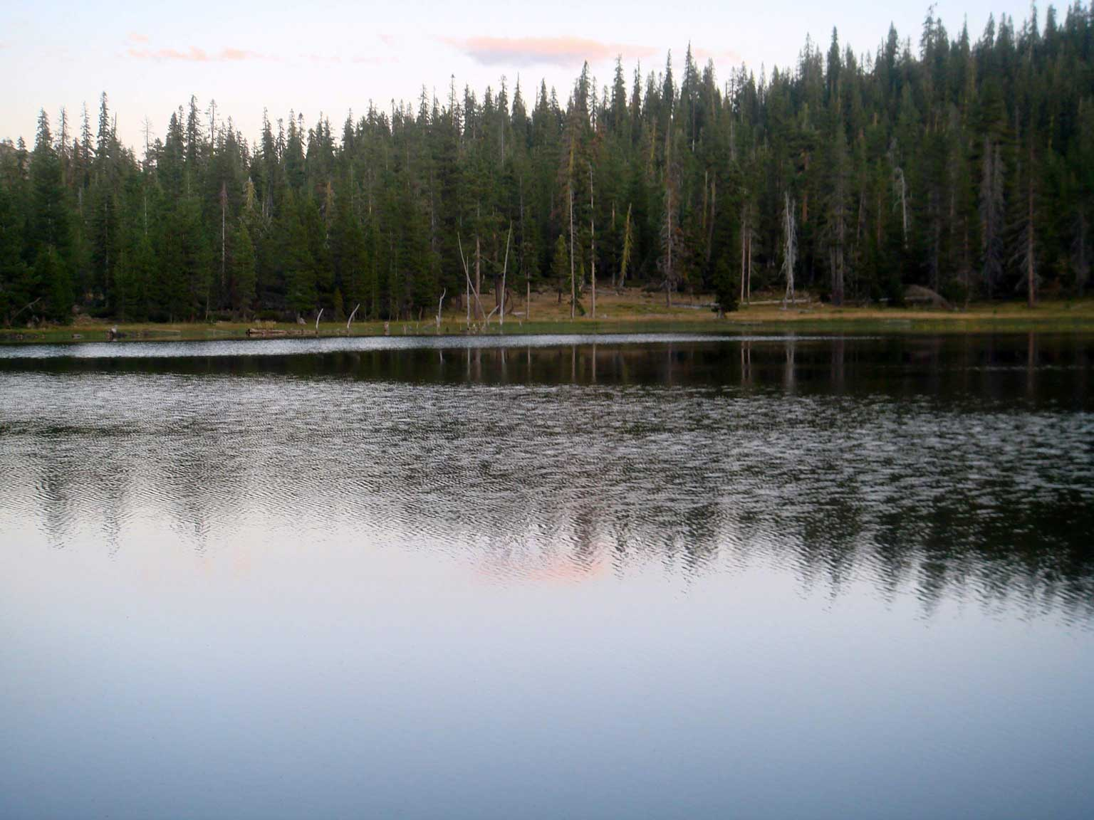 Gumboot Lake at Dusk 2