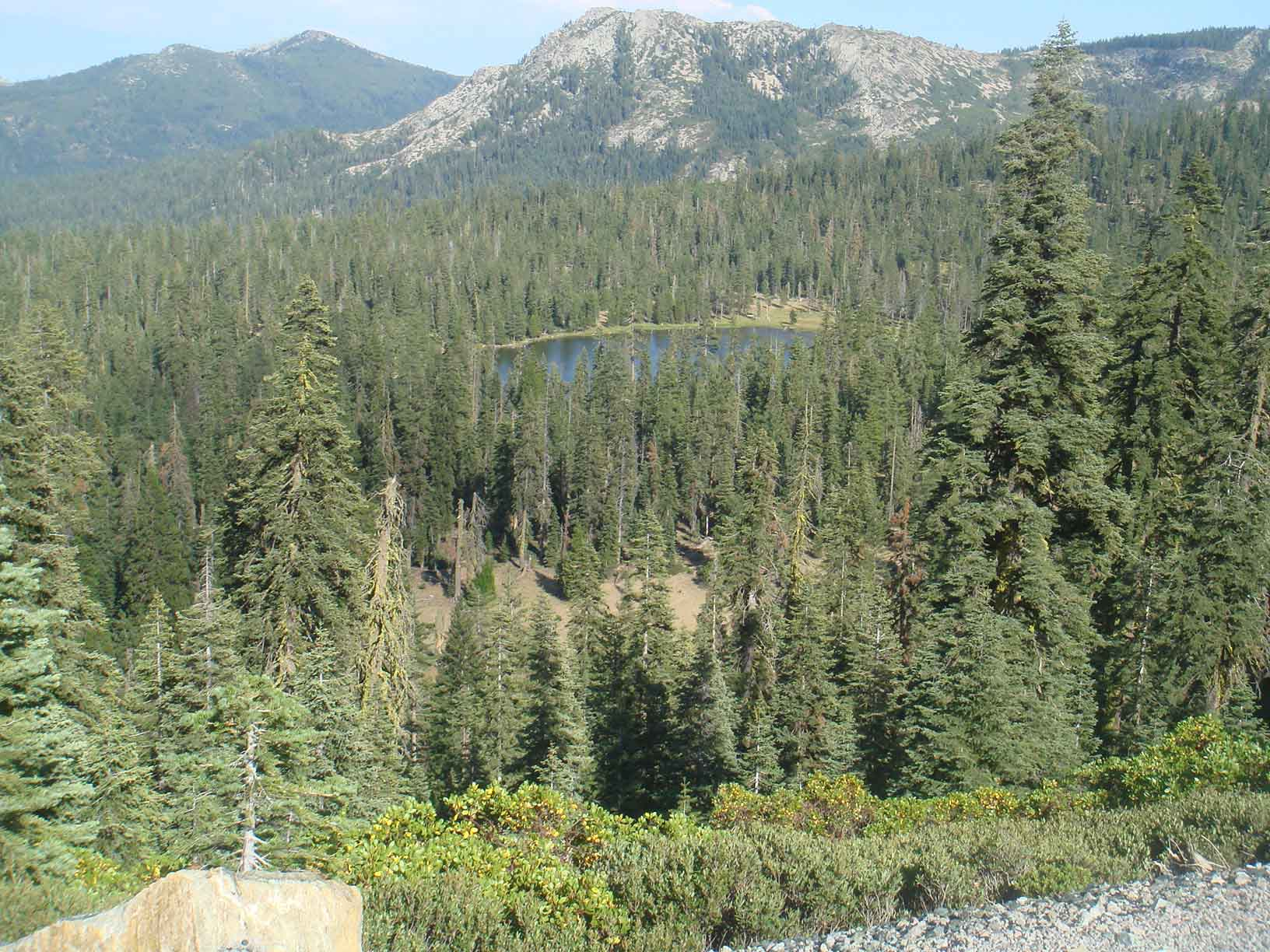 Gumboot Lake from Distance