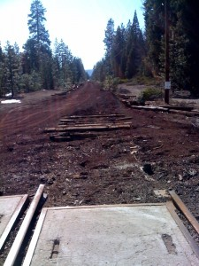 Picture of Abandoned Railway east of McCloud