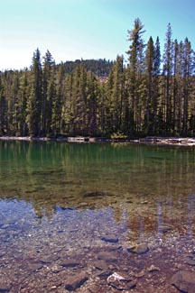 Terrace Lake, courtesy visitsiskiyou.org